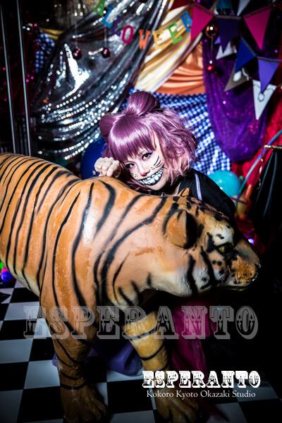 ハロウィン チェシャ猫