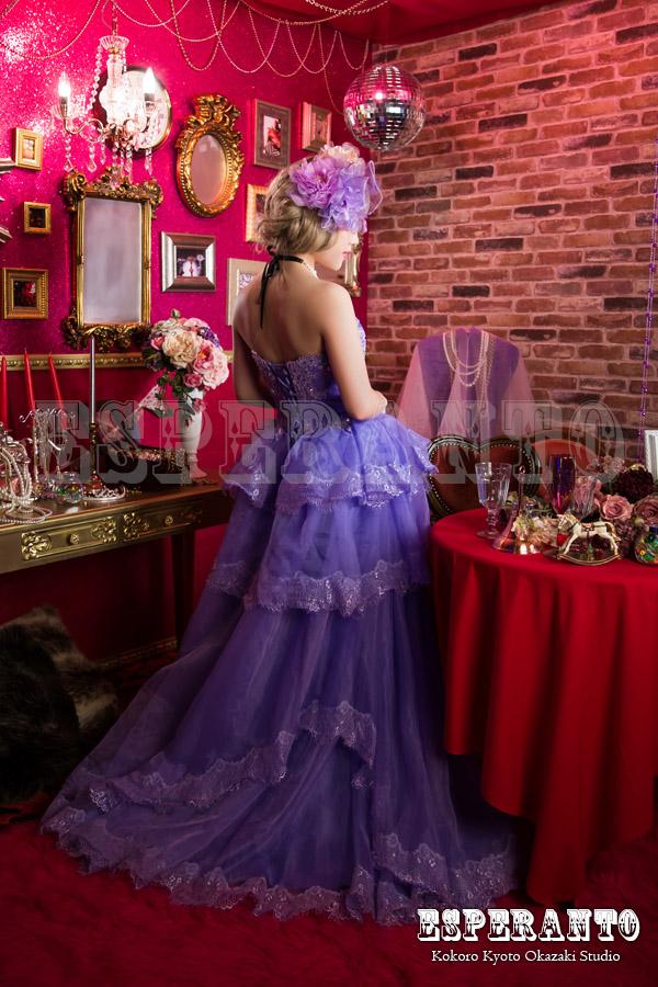 変身写真ドレス