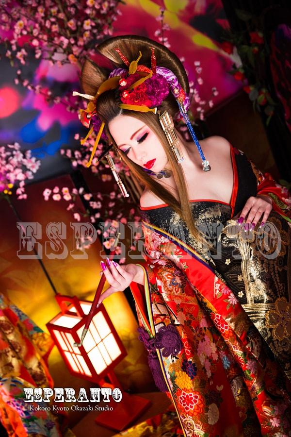 京都 花魁体験 写真 撮影 カメラ メイク ヘアメイク