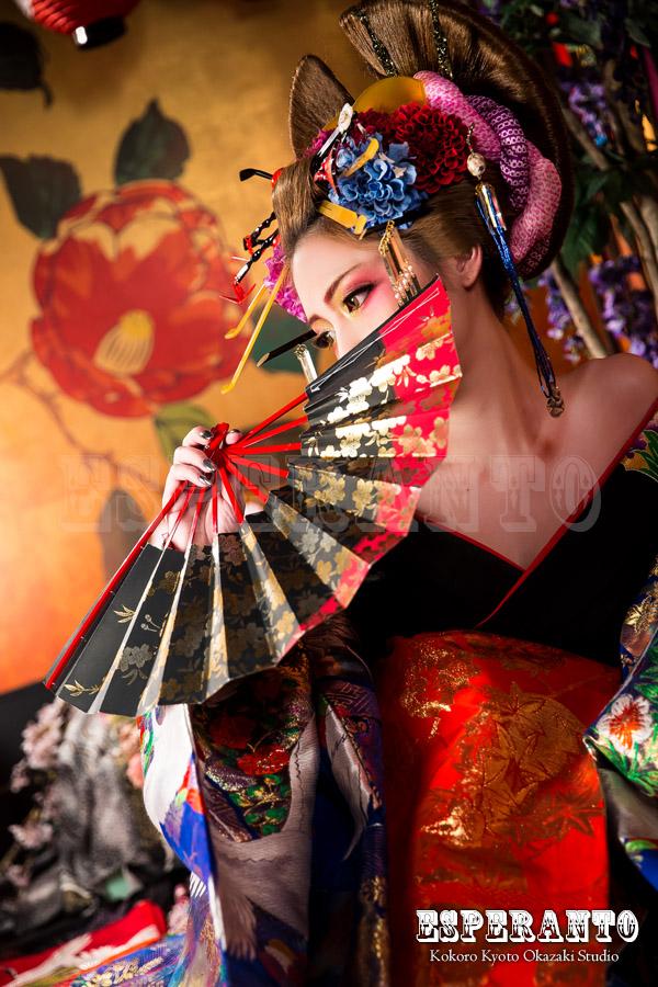 京都花魁体験