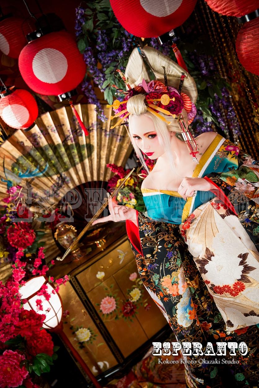 京都ESPERANTO花魁体験