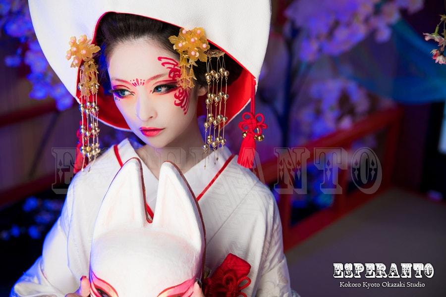 京都の狐の嫁入り