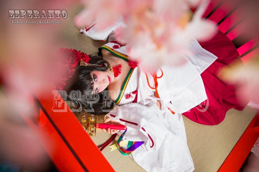 京都巫女体験