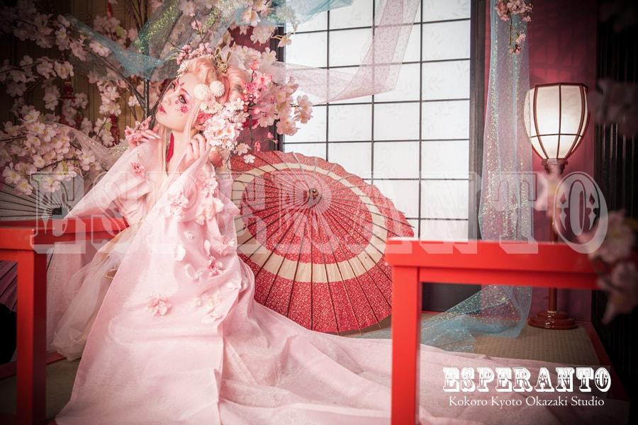 変身体験スタジオ ESPERANTO 桜樂姫プラン 02