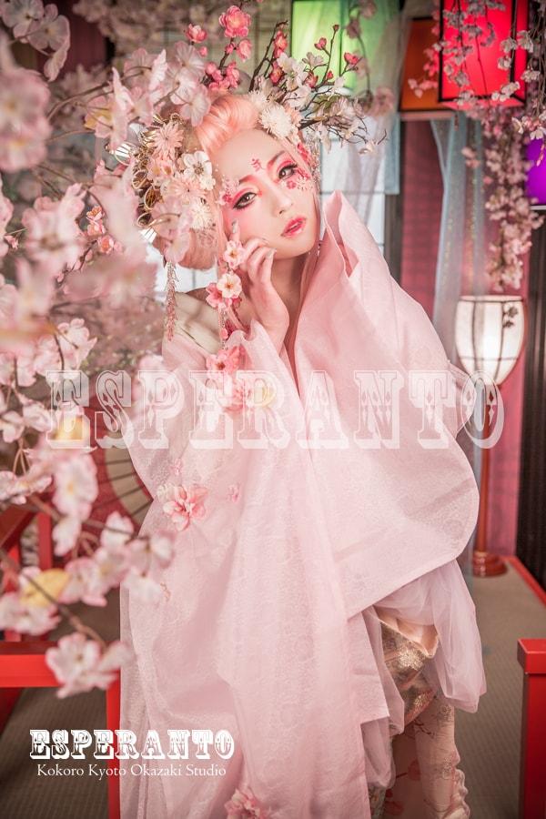 変身体験スタジオ ESPERANTO 桜樂姫プラン 03