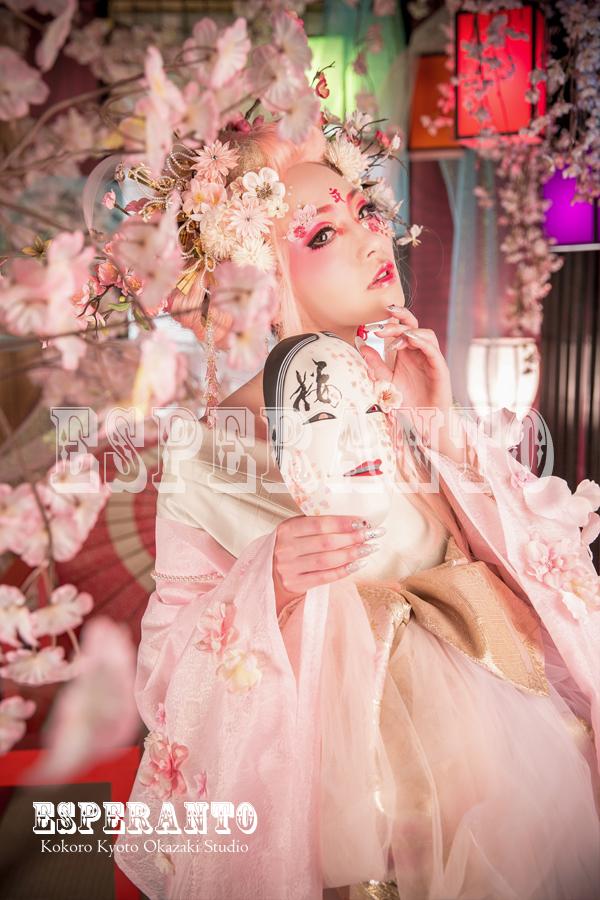 変身体験スタジオ ESPERANTO 桜樂姫プラン 05