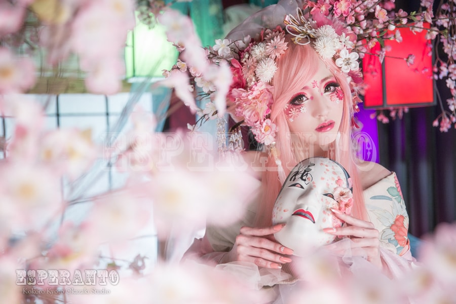 桜満開のESPERANTOで桜樂姫キャンペーン