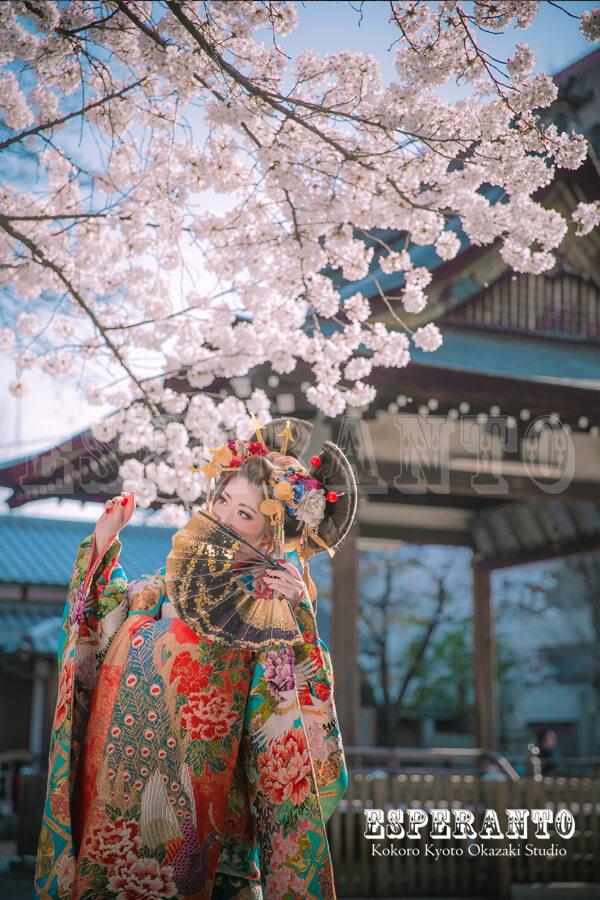 桜花魁道中
