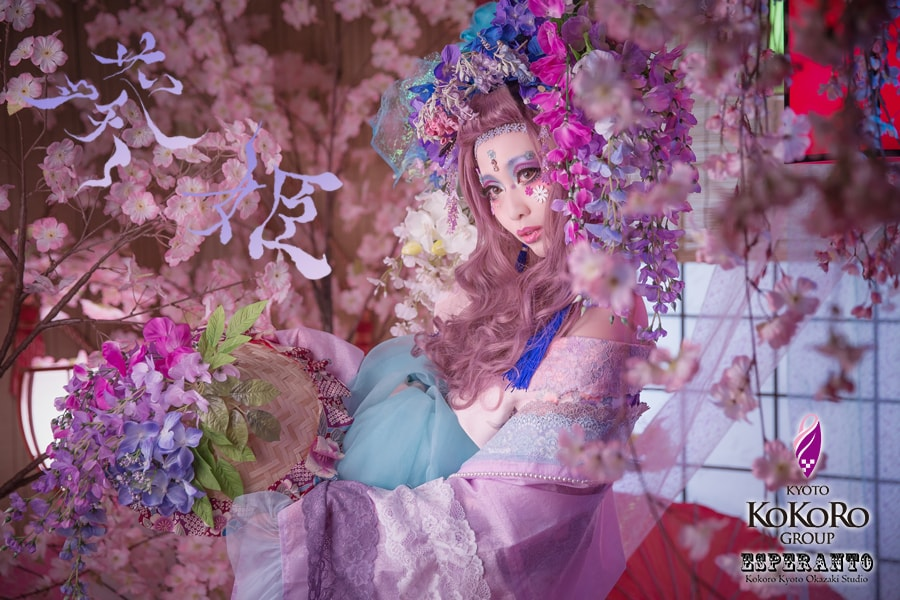 ESPERANTOの花魁体験の新キャンペーンの葵姫