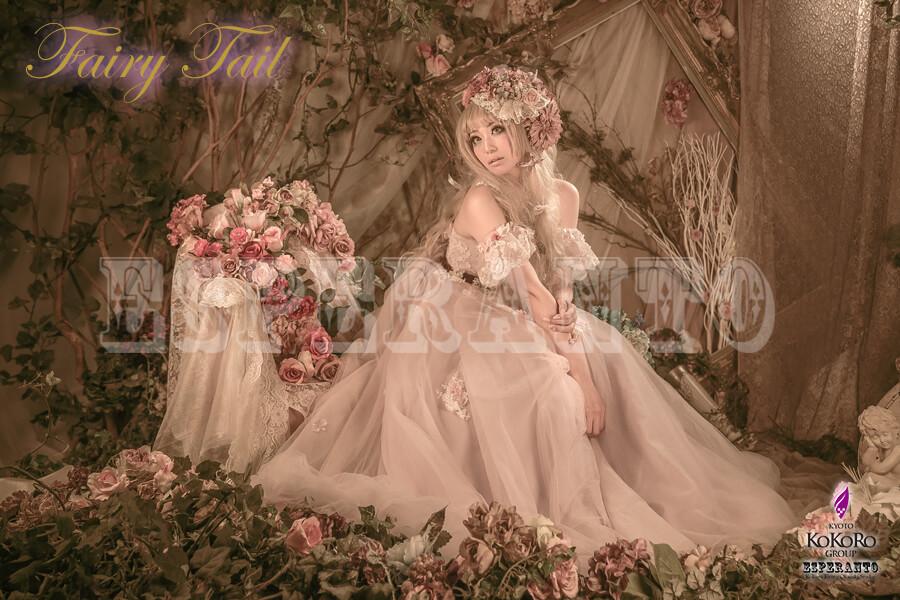 ブースリニューアルのESPERANTOのドレス体験