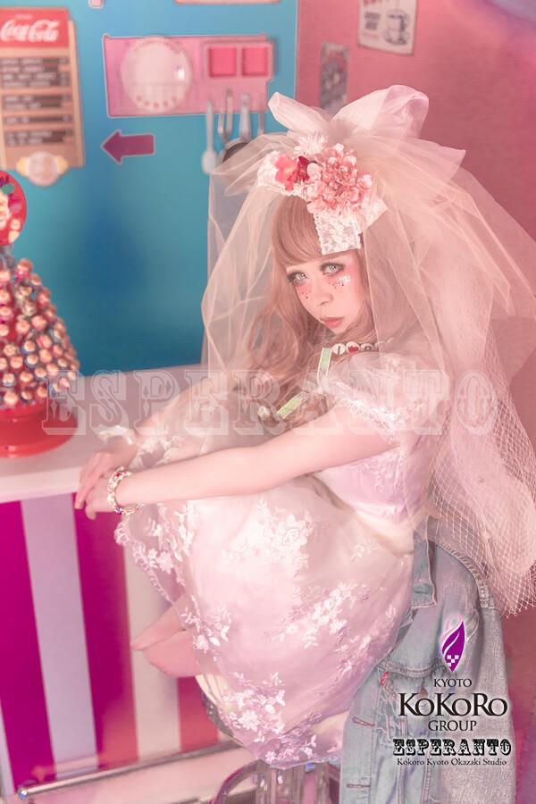 ESPERANTO 変身写真 ドレス体験