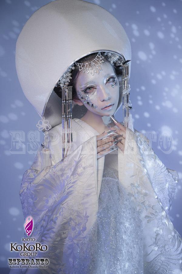 狐の嫁入り 幻雪の銀狐