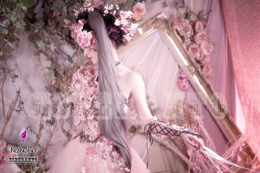 桜 ドレス