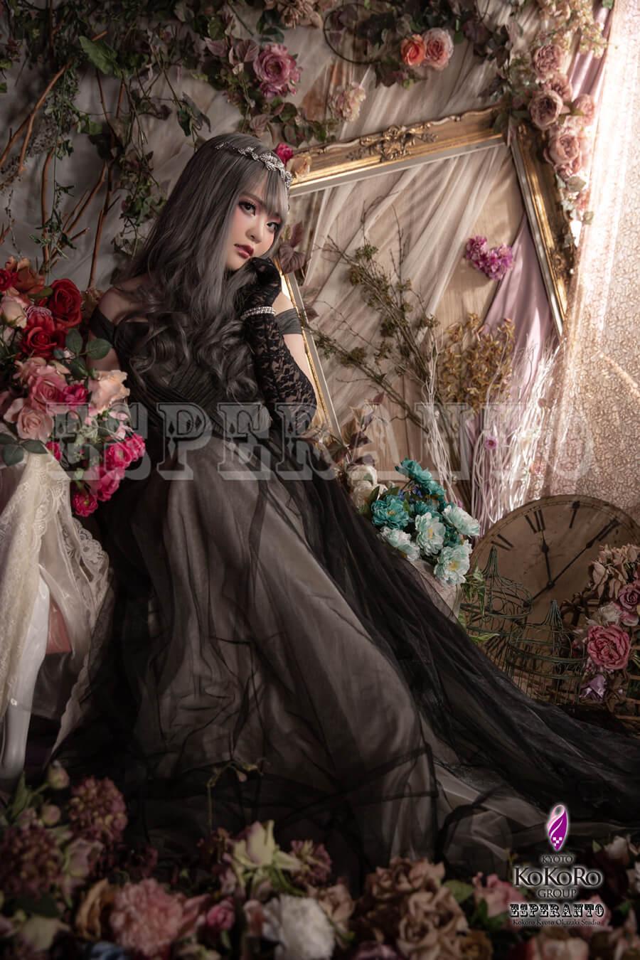 ドレス変身写真