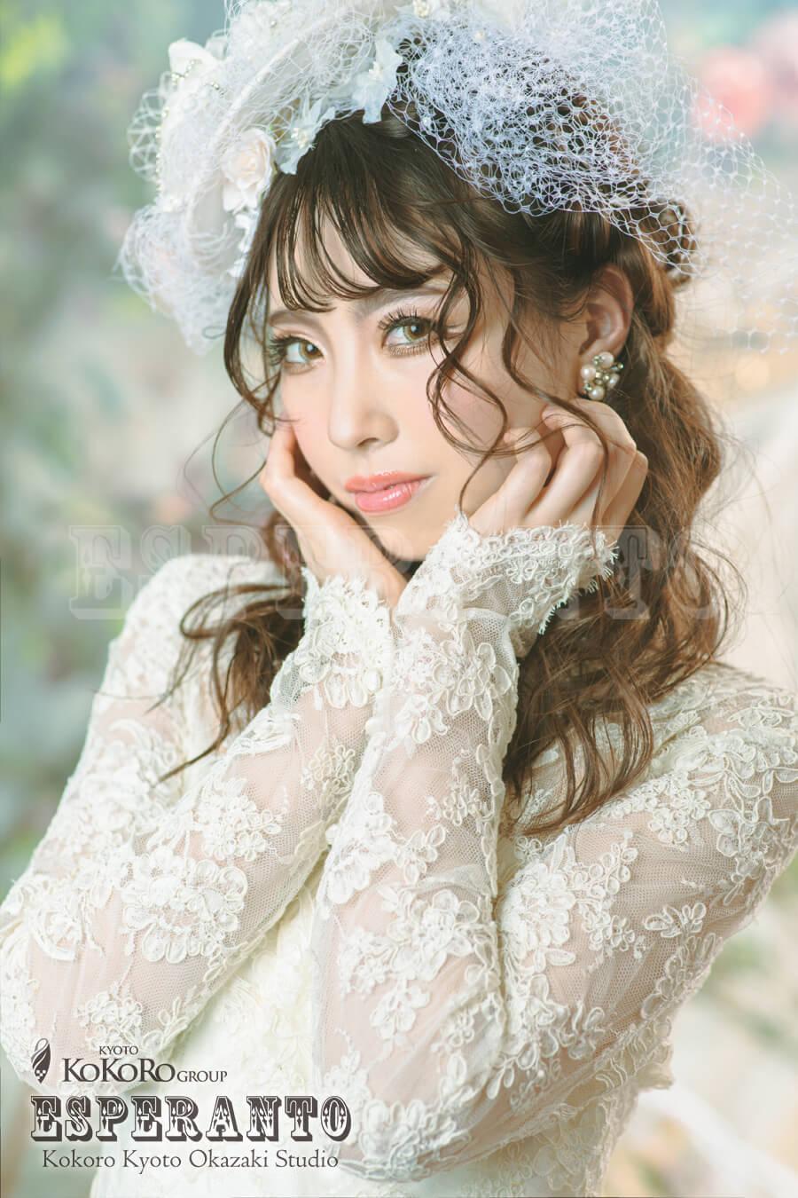 レトロなウェディングドレスでレトロ婚&レトロウェディングフォト