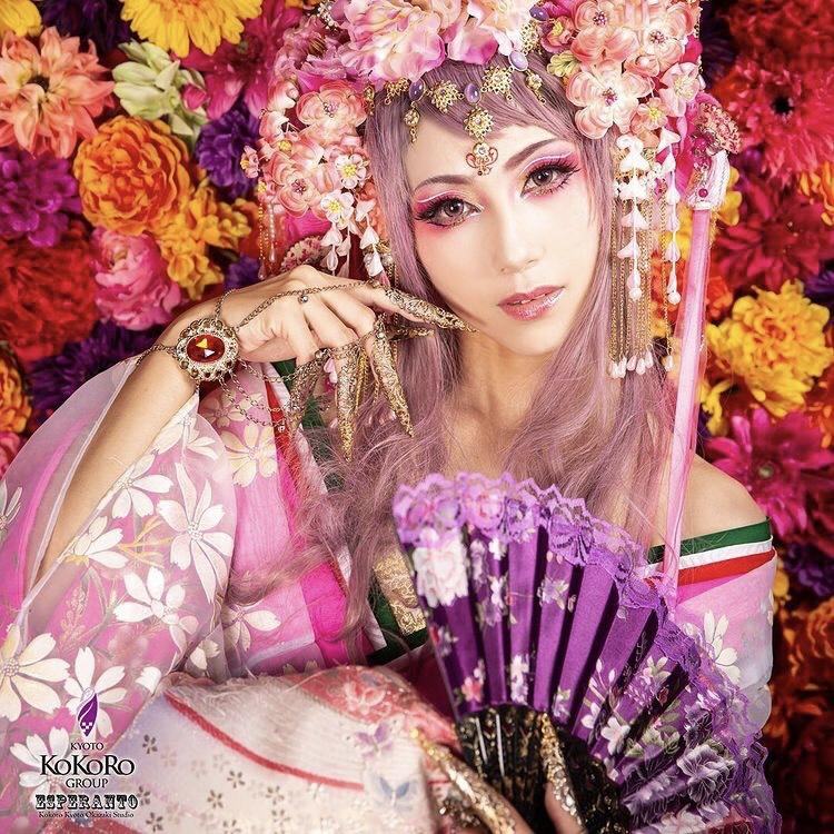 中国ドラマ風の衣装が着れる変身写真