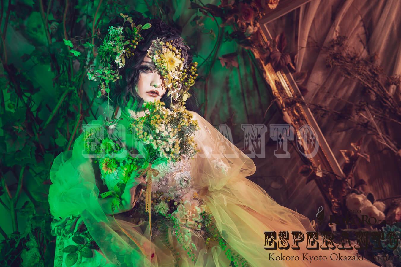 花ドレスフルールシリーズの新キャンペーン